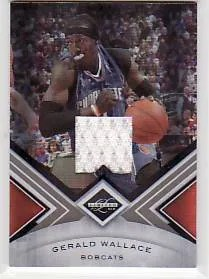 2010/11 Panini Limited Gerald Wallace Jersey