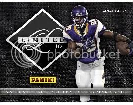 2010 Panini Limited Football Hobby Box