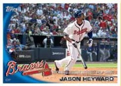2010 Topps Update Series Jason Heyward Atlanta Braves