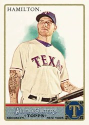 2011 Topps Josh Hamilton Base Card