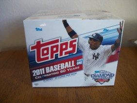 2011 Topps Series 1 Jumbo Baseball Box