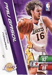 2010-11 Adrenalyn NBA Series 2 Pau Gasol Free Code