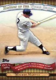 2010 Topps Series 2 Mickey Mantle World Series