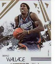 2009/10 Panini RS Longevity Gerald Wallace