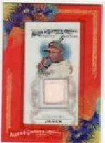 2010 Topps Allen & Ginter Adam Jones Bat Card Relic