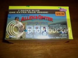 2010 Topps Allen & Ginter Retail Blaster Box