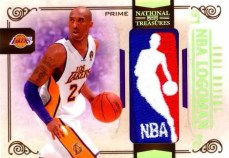 09/10 Panini National Treasures Kobe Bryant NBA Logoman Card