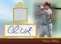 2011 Topps Tribute Chase Utley Auto Relic