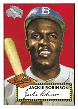 2011 Topps Series 1 60 Years Jackie Robinson Card