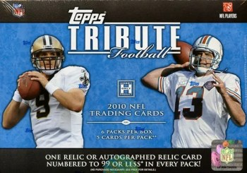2010 Topps Tribute Football Hobby Box