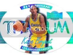 97/98 Metal Universe Kobe Bryant Titanium Basketball Card