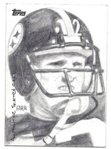 2010 Topps Sketch Card Terry Bradshaw