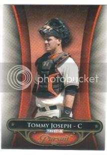 2010 TriStar In Pursuit Tommy Joseph Rookie Card