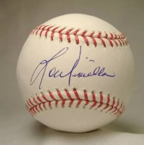 Lou Piniella TriStar Autographed Baseball