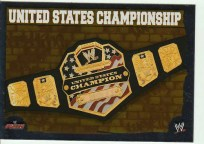 2010 Slam Attax Mayhem Championship Belt U.S.
