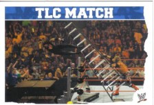 2010 Slam Attax Mayhem TLC Match Card