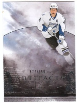2010/11 Upper Deck Artifacts Hockey Vincent Lecavalier Stars Card