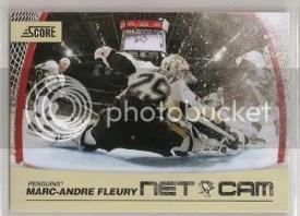 2010/11 Score Marc-Andre Fleury Net Cam