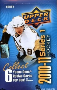 2010/11 Upper Deck Series 1 Hockey Box