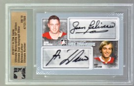10/11 ITG Ultimate Dual Autograph