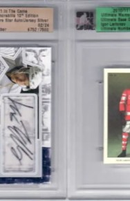 2010/11 ITG Ultimate Future Star Patch LARS ELLER