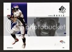 2001 Terrell Davis Sp Authentic