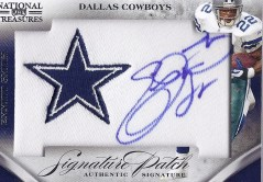 Emmitt Smith National Treasures Autograph