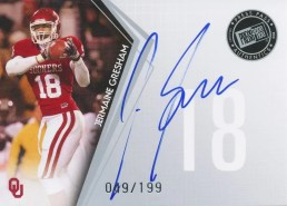 2010 Press Pass Jermaine Gresham Autograph RC #/199