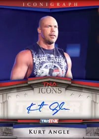 2010 TNA Icons Kurt Angle Auto