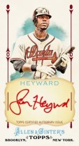 2011 Allen & Ginter Jason Heyward Framed Red Autograph