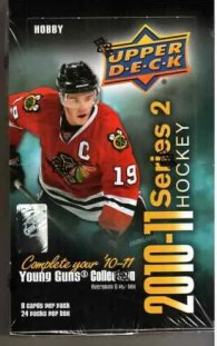 2010-11 UD Series 2 Hockey Hobby Box