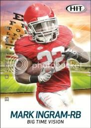 2011 Sage Mark Ingram Big Time Vision Insert Card