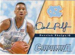 2010 Upper Deck UNC Derriek Phelps Autograph