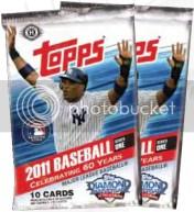 2011 Topps Series 1 Baseball Pack