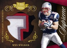 2010 Plates & Patches Wes Welker Team Supreme