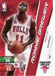 2010-11 Adrenalyn NBA Series 2 Ronnie Brewer Code