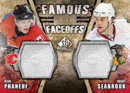 2010/11 UD Sp Game Used Famous Faceoffs
