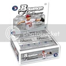 2010 Bowman Platinum Baseball Box