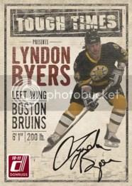 2010/11 Donruss Tough Times Lyndon Byers