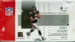 2001 Sp Authentic Football Hobby Box