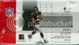 2001 Sp Authentic Football Hobby Box