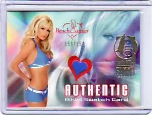 2004 Bench Warmer Brande Roderick Bikini Swatch Card