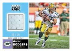 2010 Topps Magic Aaron Rodgers Relic Jersey