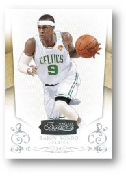 2010/11 Panini Timeless Treasures Rajon Rondo Base Card