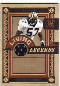 2010 Crown Royale Rickey Jackson Living Legends Jersey
