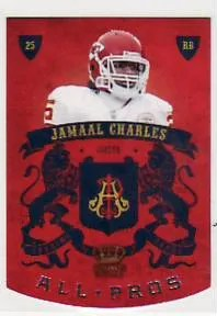 2010 Panini Crown Royale Jamaal Charles All-Pro