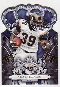 2010 Panini Crown Royale Steven Jackson