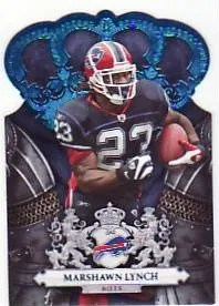 2010 Panini Crown Royale Marshawn Lynch Blue #/100