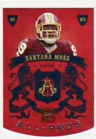 2010 Panini Crown Royale Santana Moss All-Pros
