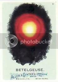 2010 Topps Allen & Ginter Betelgeuse